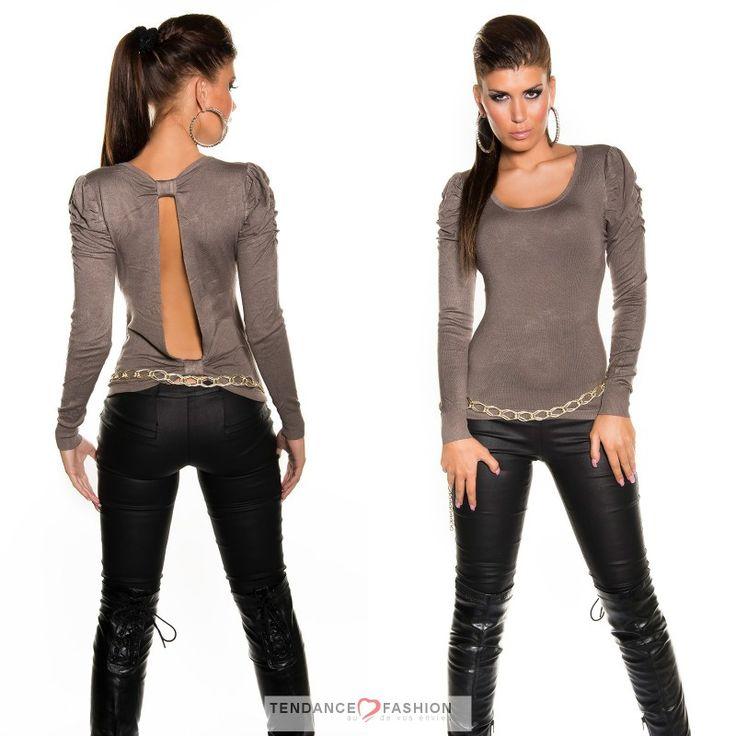 Top trendy new look LUANA cappuccino color