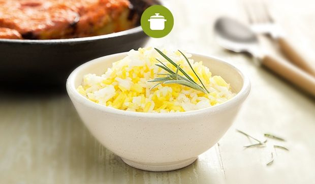 Afghanischer Safran-Reis und Gorme Badenjan