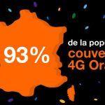 Couverture 4G : Orange reste premier avec 93% Bouygues atteint les 90%