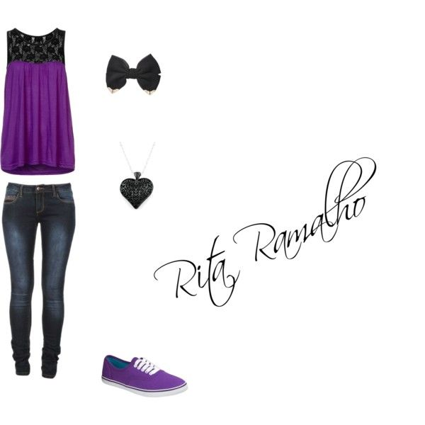 Purple!!!! :)))) by ritinha-ramalho on Polyvore featuring even&odd
