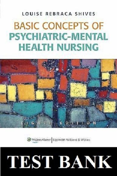 Basic Concepts Of Psychiatric Mental Health Nursing 8th Edition
