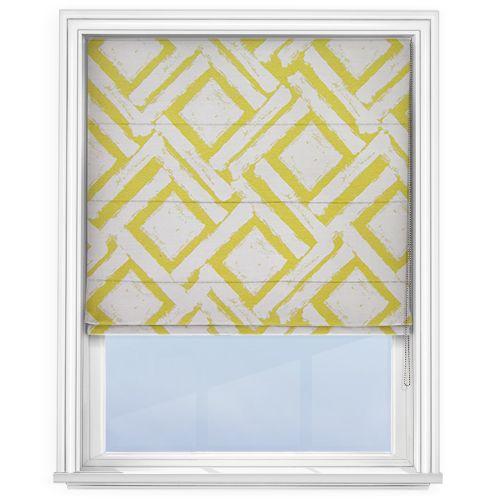 prestigious textiles colorado citrus roman blind j 39 habille mes fen tres pinterest habille. Black Bedroom Furniture Sets. Home Design Ideas