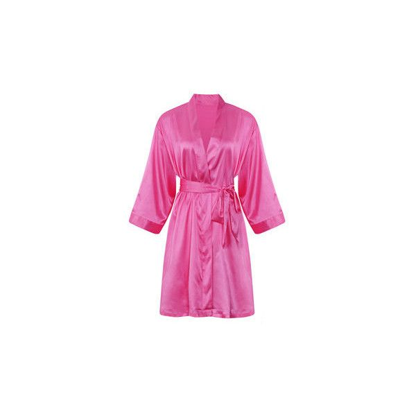 Comfortable Long Sleeved Smooth Silk Loungewear Night-robe ($13) ❤ liked on Polyvore featuring intimates, robes, rose, silk dressing gown, silk bathrobe, bath robes, silk robe and dressing gown