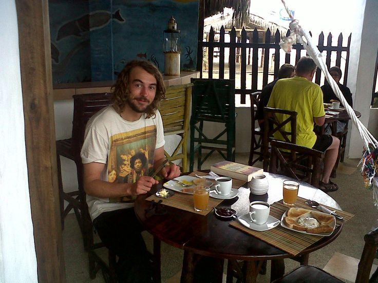 Complementary breakfast at Hostel Sole Mare - https://www.facebook.com/HostelSoleMare?ref=hl