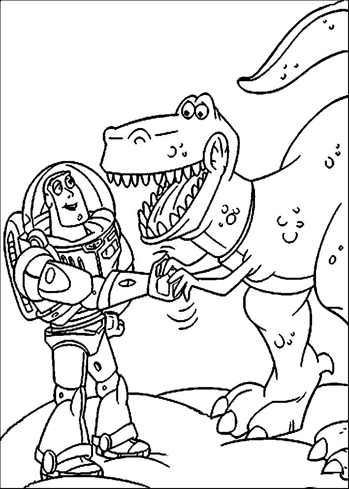 45 best Toy story Coloring Pages