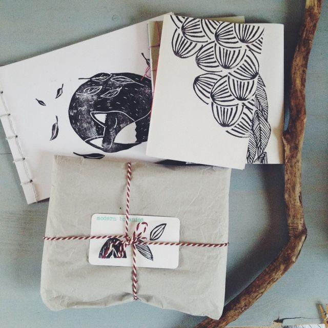 making journals the eco-friendly way • Modern Botanics