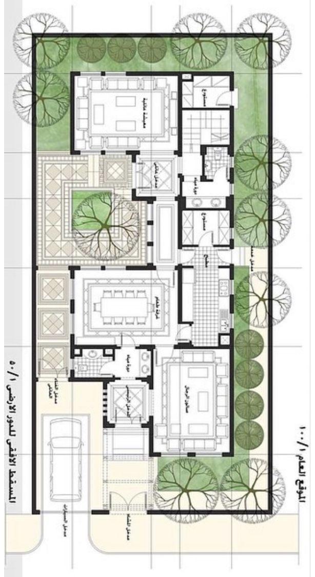 12 5x25 الدور الارضي Free House Plans Model House Plan Beautiful House Plans