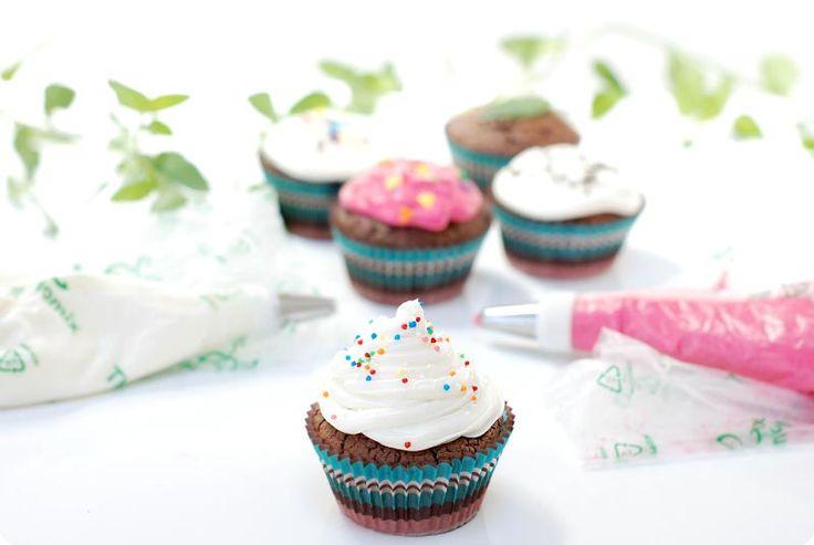 cupcakes de queso crema