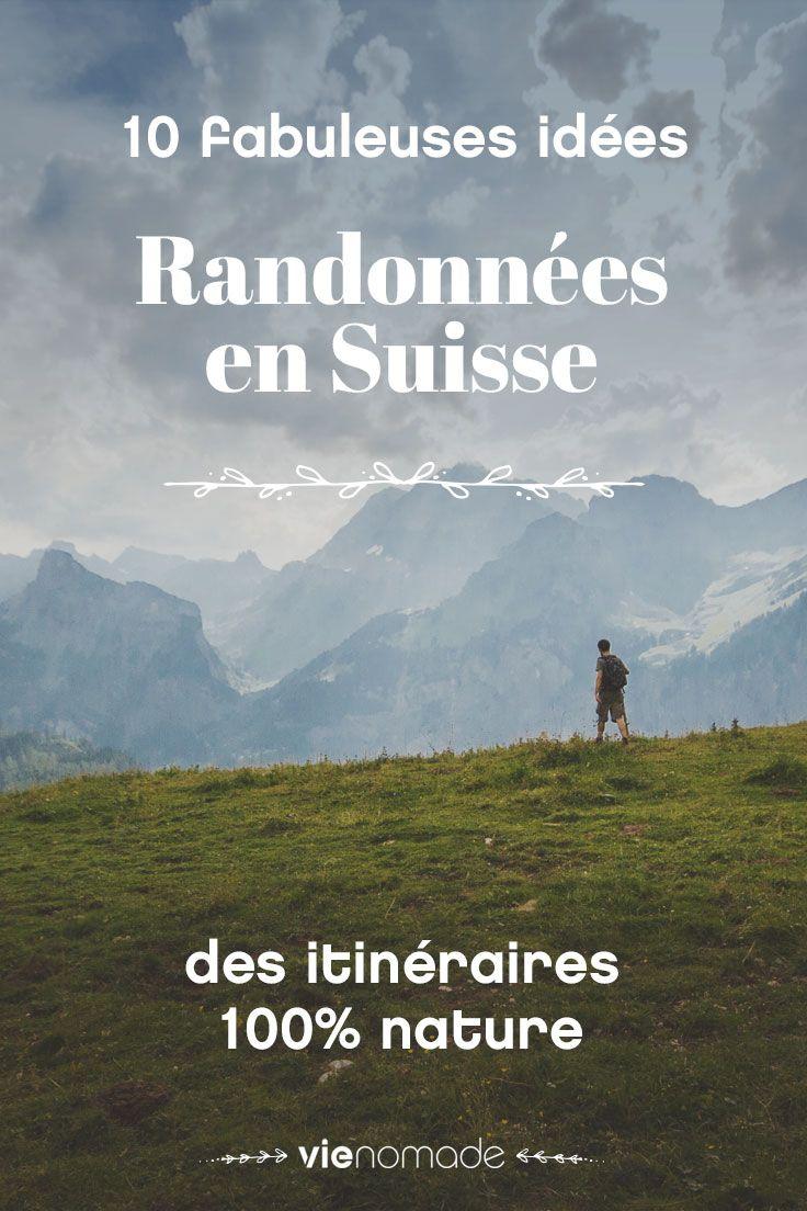 Idées de randonnée et balade en Suisse
