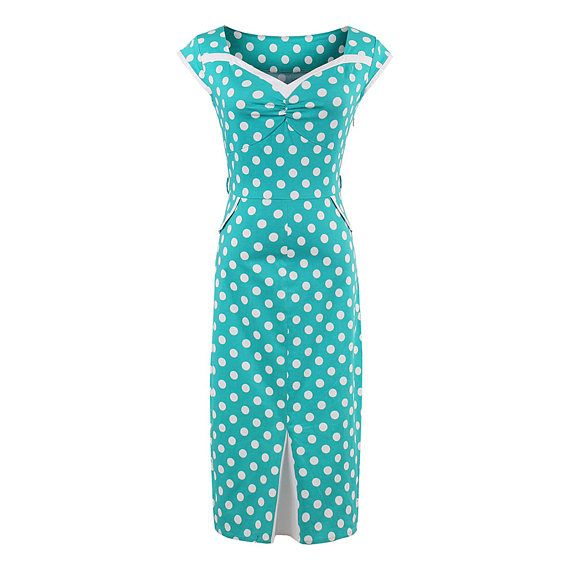Lady Sexy Bodycon Dress Dot Pencil Sleeveless Mid Calf Summer V Neck Dress Cotton Blends Pullover Special Design