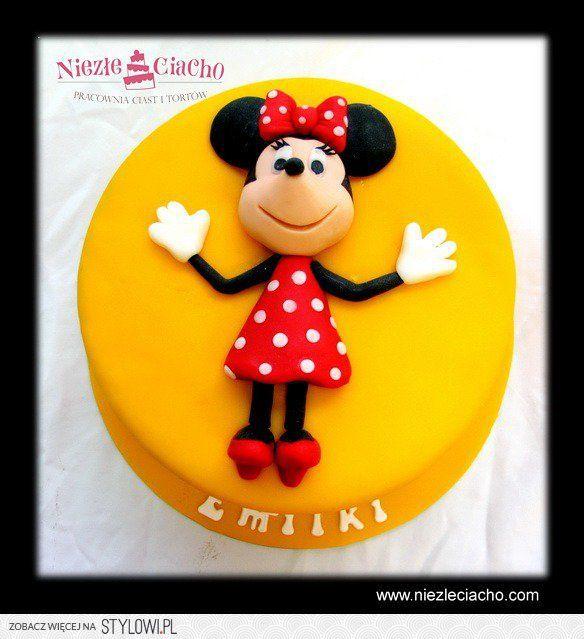 Myszka Mini, Myszka Miki, tort z Myszką Mini, torty bajkowe, torty dla dzieci, tort urodzinowy, dzieci, Tarnów, przyjęcie urodzinowe