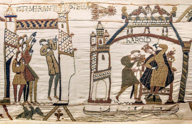 In the age of Brexit, France has agreed to allow the medieval embroidery to cross the English Channel for the first time in nine centuries.