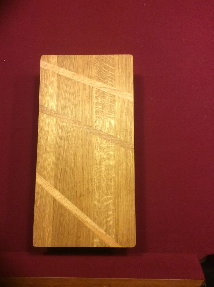 Cutting board, oak & beech.