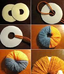 Resultado de imagen para manualidades con lana faciles paso a paso