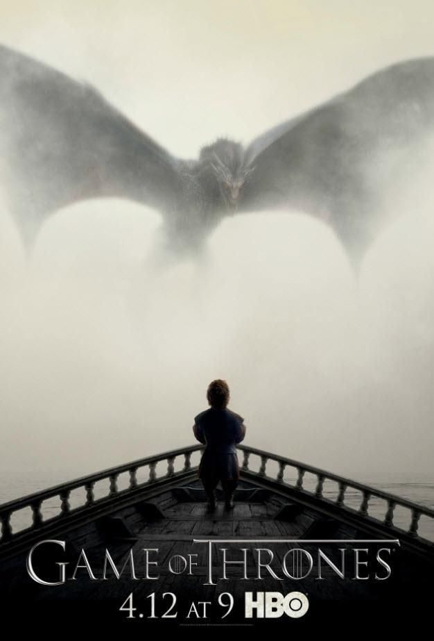 Game of Thrones Season 5 Poster Pits Tyrion Against Dragon   Variety