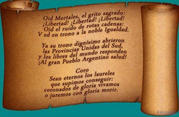 Mi Universar: Día del Himno Nacional Argentino