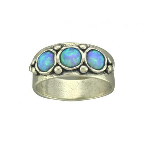 Mediterranean Opal Ring