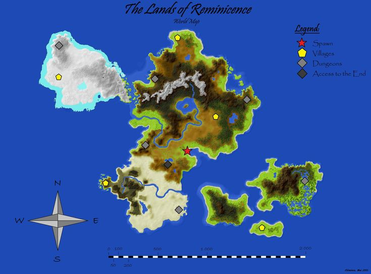 [Map] The Lands of Reminiscence [1.5.2] - Minecraft-France