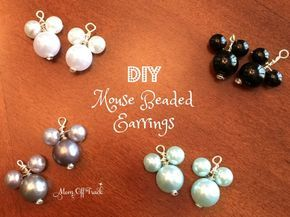 These iy mickey mouse beaded earrings made perfect Fish Extender gifts.