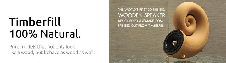 3D Printed wooden speaker. Fillamentum | addi(c)tive polymers – Fillamentum.com