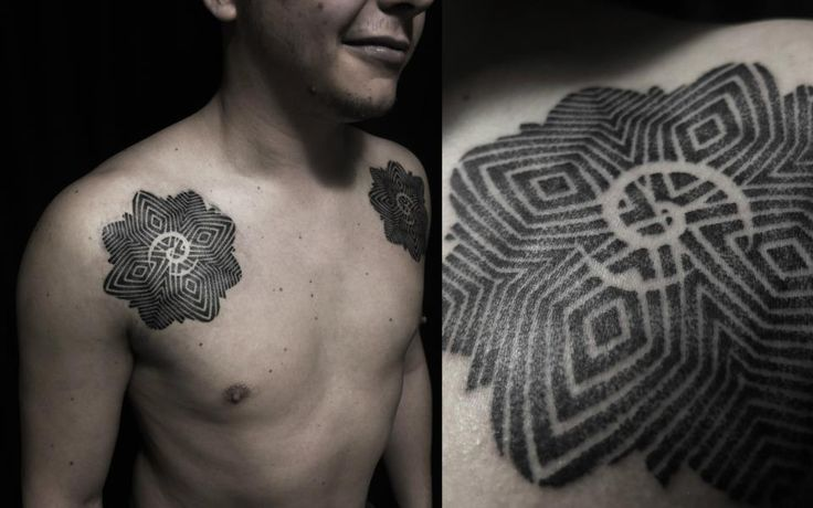 tattoo borneo