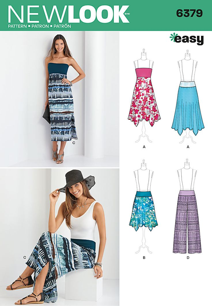 Simplicity Creative Group - Misses' Pants, Skirt, and Convertible Maxi-Skirt
