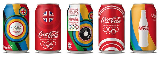 Coca Cola London 2012. by MWM Graphics, via Flickr