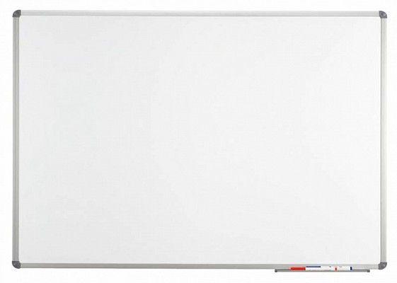 Доска Hebel Maul Standart 90x120 см магнитно-маркерная алюминиевая рама серая отделка