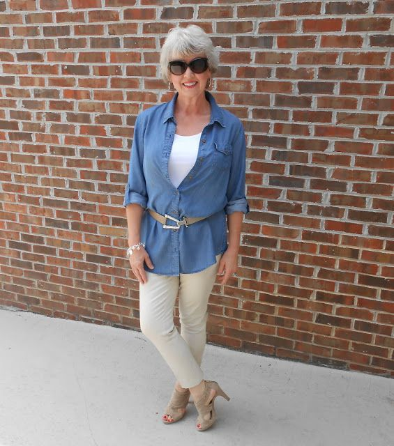 Fifty, not Frumpy...this lady is beautiful and she is over 50 with a great fashion blog! check her out