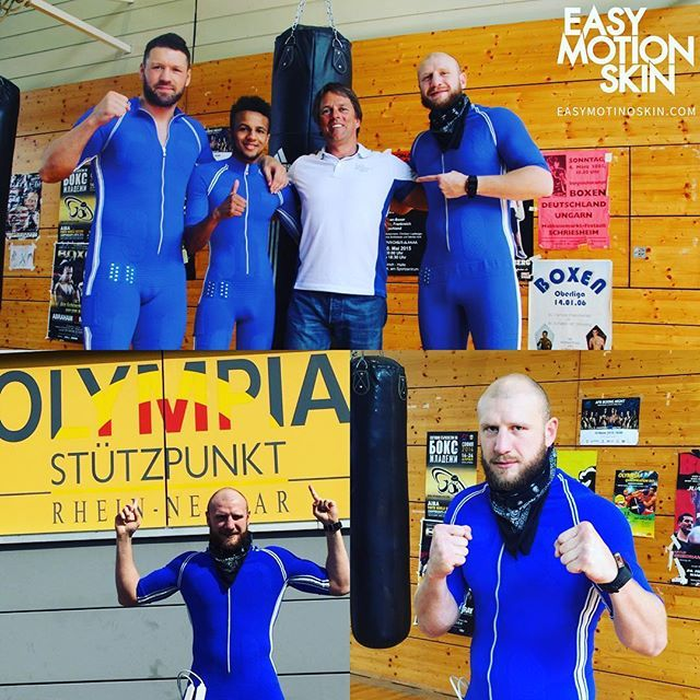 Olympia 2016. Wir unterstützen das Olympiateam der Boxer #emstraining #easymotionskin #davidgraf #boxen #olympia2016 #fitnessmotivation
