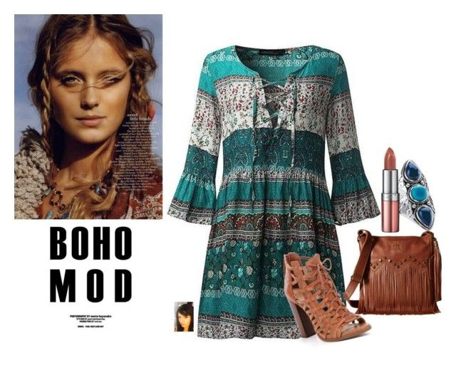 """Boho Mod"" by gaya-vas ❤ liked on Polyvore featuring Palm Beach Jewelry, Rimmel and STS Ranchwear"