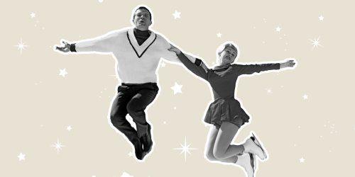 couple patinoire rendez vous romantique hiver