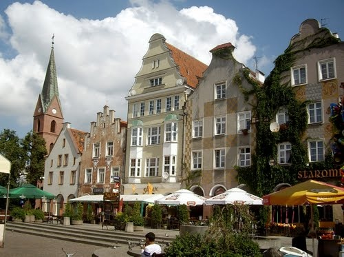 Opis zdjęcia Yuri Bardun Olsztyn (Allenstein).  Stare miasto.  Stare Miasto