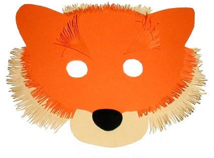 Bricolage : masque de Renardeau pour enfant
