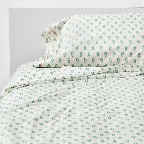 27 Print Cotton Percale Sheet Set Opalhouse Target Percale Sheets Stylish Sheets Printed Sheets