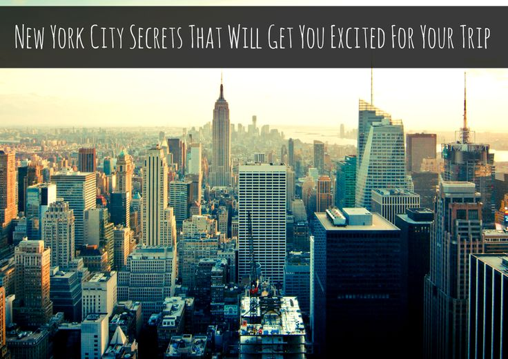 If you are planning on going to New York City sometime this year, there is probably one thing you aren't particularly looking forward to – all the crowds of tourists! But there is one way you can avoid all these crowds