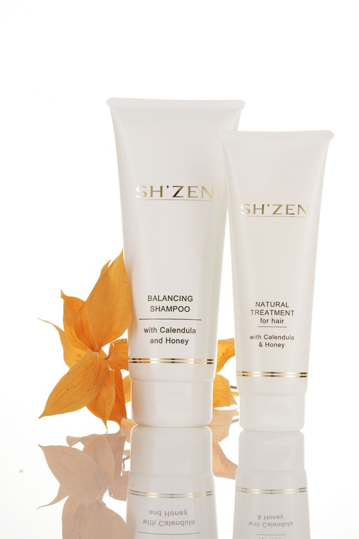 Sh'Zen's Balancing Shampoo and Natural Treatment for Hair nourishes the hair to leave you with healthy, shiny locks. http://bit.ly/1NnL9c1