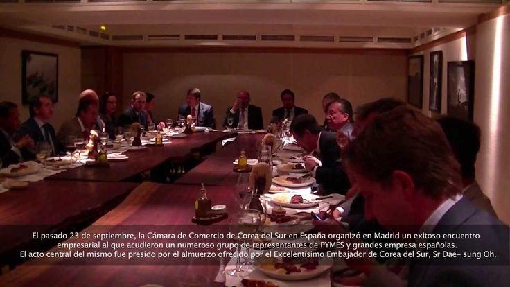 Austral Consulting participó en el Almuerzo de trabajo auspiciado por la Cámara de Comercio España Corea.