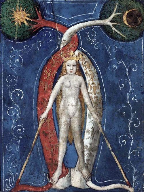 Philosophical Mercury (Mercurius)(c. 1400).