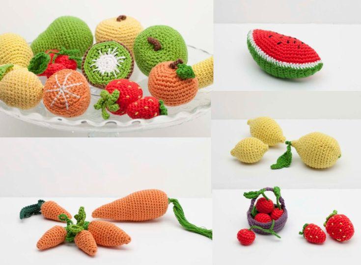 Frutta Uncinetto Schemi Amigurumi : 17 mejores imagenes sobre amigurumi vegetales en Pinterest ...
