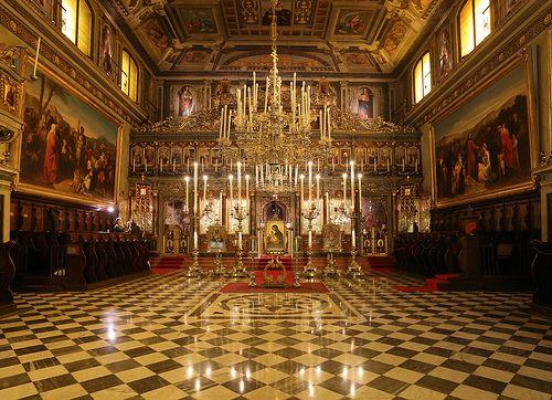 Chiesa Greco-ortodossa di San Nicolò -  Trieste ( interno )
