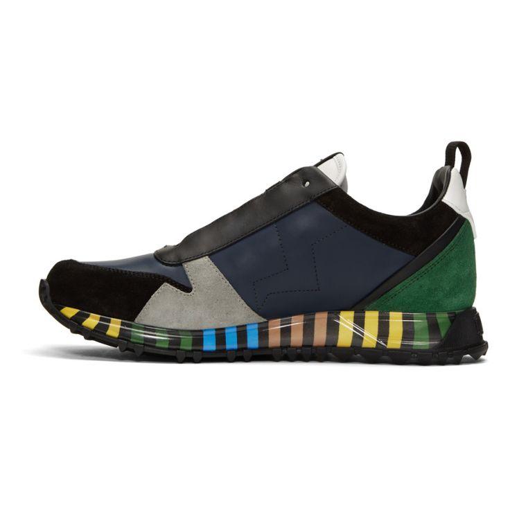 Fendi - Multicolor Speed Runner Sneakers