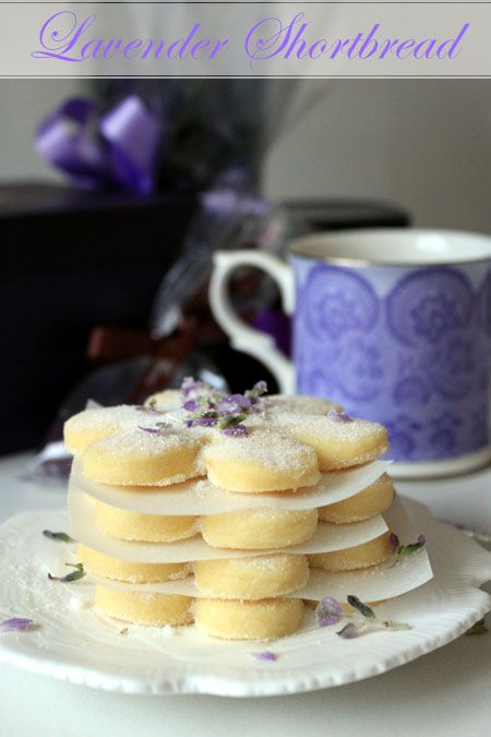 Lavender Shortbread recipe, going to try these