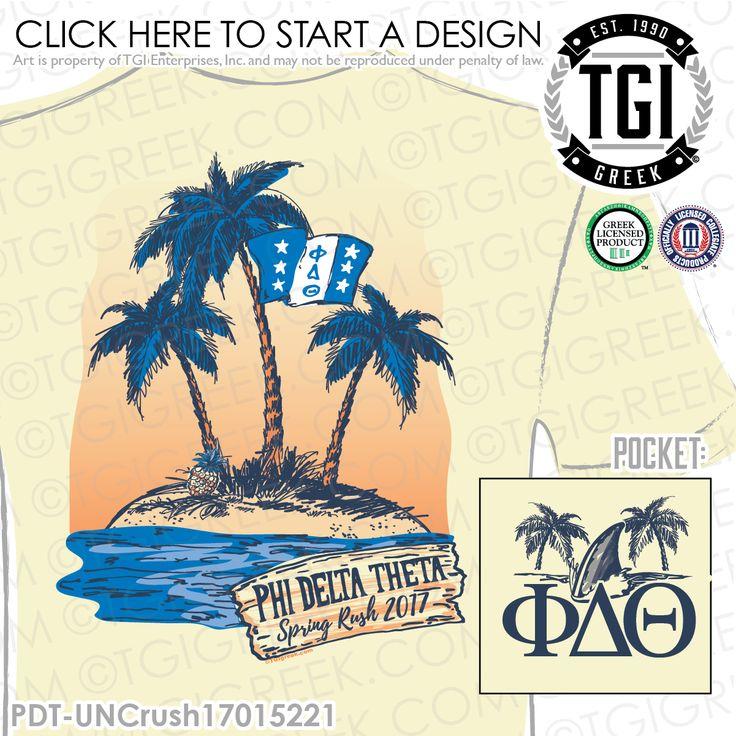 Phi Delta Theta | Phi Delts | ΦΔΘ | Spring Rush | Fraternity Rush Shirt | Phi Delt Spring Rush | Rush Tee | Brotherhood | Greek Mixers | TGI Greek | Greek Apparel | Custom Apparel | Fraternity Tee Shirts | Fraternity T-shirts | Custom T-Shirts