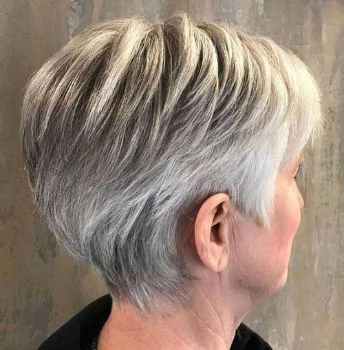 Short Hairstyles For Over 50 Fine Hair Coiffure Courte Coupes De Cheveux Courts Agitees Coupe De Cheveux Courte