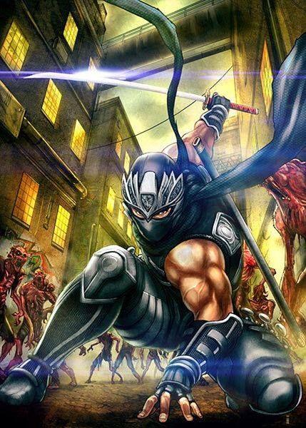 Ninja Gaiden Amazing Art