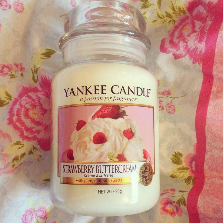 Strawberry Buttercream Yankee Candle: Just finished this one and it was phenomenal; 4/5