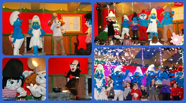Nuestra colección más amplia son Los Pitufos, disponibles los personajes de primera y segunda parte de las peliculas, para pasacalles disponemos de 12 Pitufos distintos #smurfs  #animagic #pasacalles #cabalgatas #pitufos #animacion