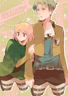 Auruo Bossard / Oluo Bozado x Petra Ral | Petruo | Love & Hate | Attack on Titan/Shingeki no Kyojin / aot/snk | Anime manga couple | dead OTP