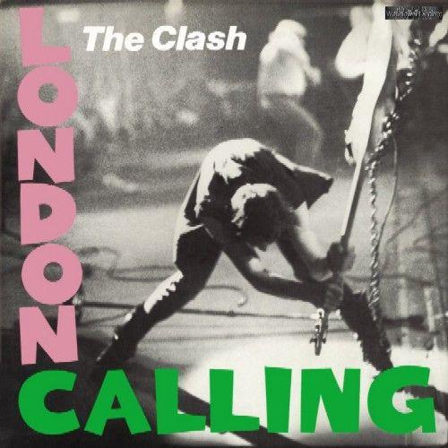 The Clash, London Calling album cover, 1979